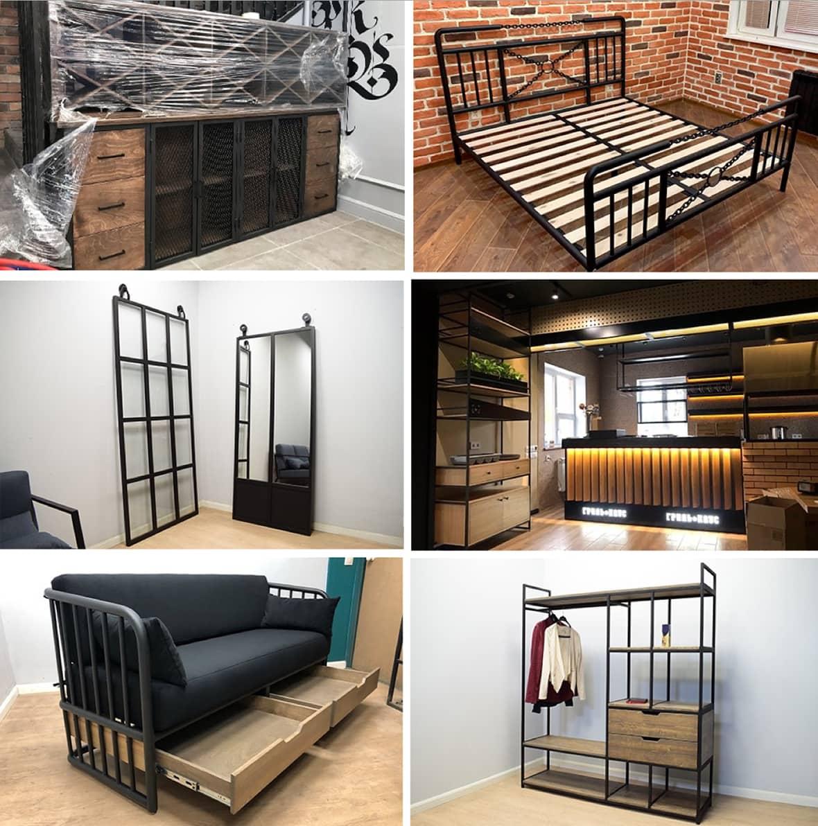 Лофтовая мебель на заказ
